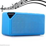 Radio De Fm De Tf Colorido Mini Inalámbrico Bluetooth