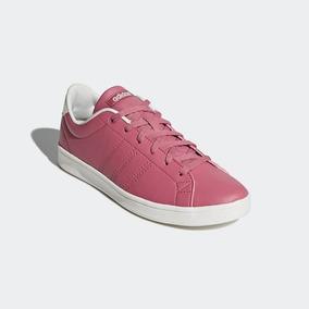 Tenis adidas Advantage Clean Rosa Mujer B44665 Originales