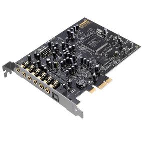 Placa De Som Pci-e Creative Sound Blaster Audigy Rx 7.1 - Sb