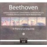 Beethoven El Piano Y La Orquesta 2 Discos Cd