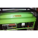 Planta Electrica Marca Honda Japonesa 6,5kva