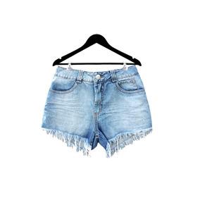 Short Jeans Rasgado Desfiado