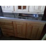 Mueble De Cocina Nuevo De Pino