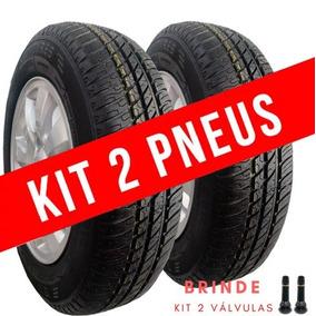 Kit 2 Pneu Aro 14 175/70 R14 Remold Gw Tyre Desenho Michelin