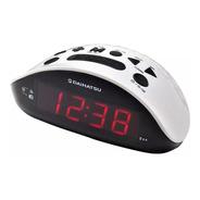 Radio Reloj Digital Daihatsu D-rr17 Am Fm Blanco