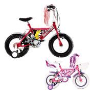 Bicicleta Infantil Stark Rod 12 Extreme Pink Rueditas Acero