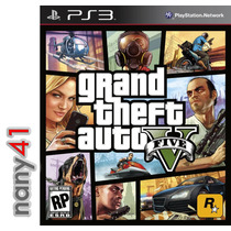 Grand Theft Auto V Juego Consola Ps3 Gta V Playstation Five