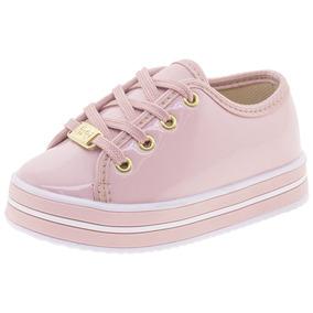 f65baee18c1 Tenis Infantil Feminino Nilqi - 447 Rosa por Clovis Calcados
