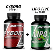 Quemador De Grasa. Lipo Five + Cyborg Pre Work. Body Advance