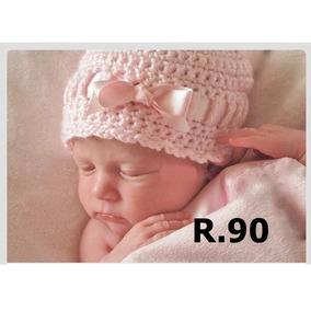 Gorro Tejido Crochet Bebe Niña Niño Dama Caballero Conjunto