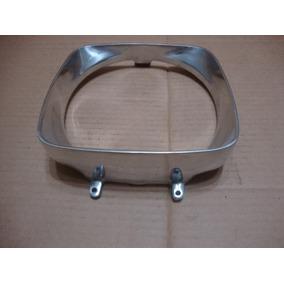 Par Aro Moldura Do Farol Do Opala Até 74 Alumínio Polido