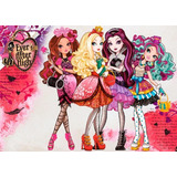 Ever After High Papel De Arroz A4 Comestível Para Bolo