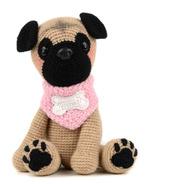 Pug - Perros A Crochet - Nariz De Azúcar Amigurumis
