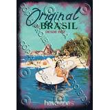 Placa Vintage King Mdf 39x27cm Havaianas Brasil Bc.04067