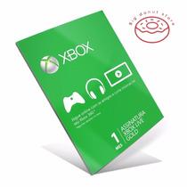 Assinatura Cartão Xbox Live Gold 1 Mês - Envio Rápido