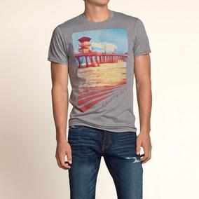 Polo Hollister Camiseta Con Cuello Redondo Talla S