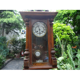 bbe65f1eeb35 Reloj De Pared Antiguo Weston No Funciona¡subasta De 1 ...