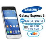 Samsung Galaxy Express 3 J1 4g Lte 8gb Liberado Blanco