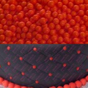 Perlas Comestibles Sprinkles Rojo