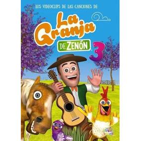 Dvd De Las Canciones De La Granja De Zenón 3