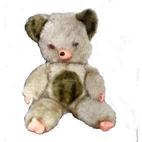 Boneco De Pelúcia Antigo Urso Peposo
