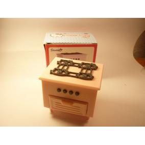 Hello Kitty Cocina Y Campana Miniatura De Plástico