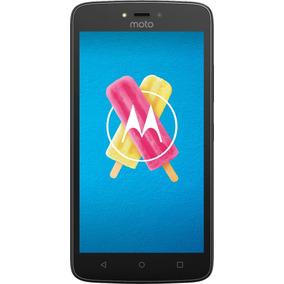 Celular Libre Moto C 4g Black Xt1756 Envío Gratis