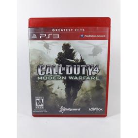 Jogo Call Of Duty 4 Modern Warfare Greatest Hits Ps3 Seminov