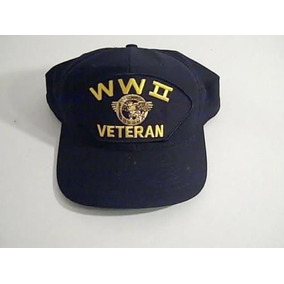 Gorra Veterano Segunda Guerra Mundial Usa Militar America