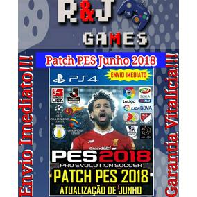 Patch Para Pes18 Pes 2018 Ps4