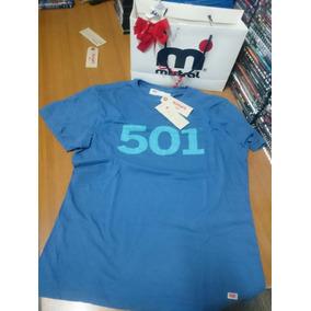 Remera Levis 501 Azul Original Talle L Nueva!!!!