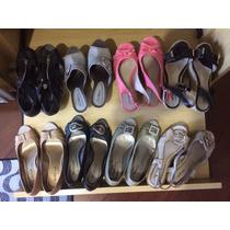 Sapatos Calçados Brechó Usados Bom Estado 8 Pares Número 36