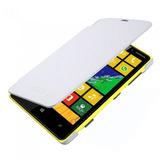 Capa Protetora Flip Cover Para Lumia N 820 Branca