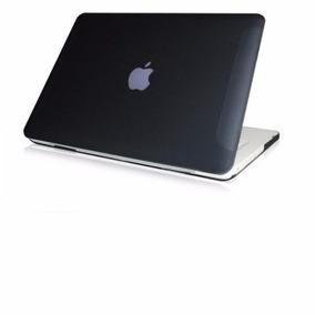 Carcasa Funda Macbook White Unibody 13 Negro + 1 Accesorio