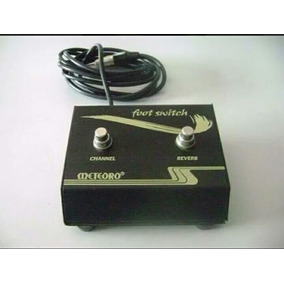 Pedal Foot Swith - Meteoro Channel Reverb