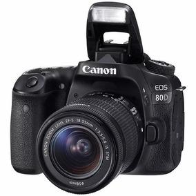 Câmera Canon Eos 80d Kit 18-135 Usm (gb) 4.890 À Vista