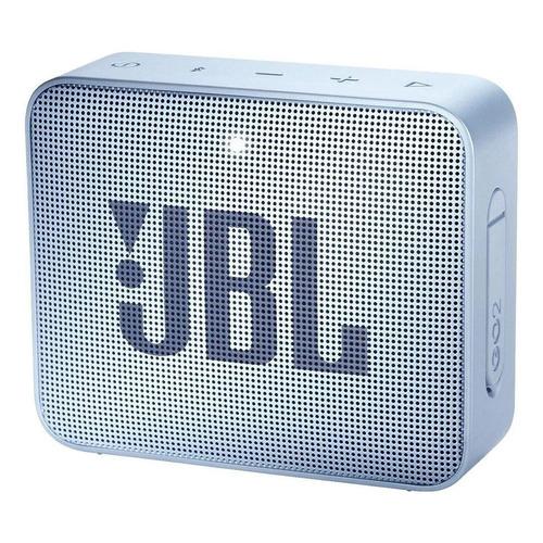 Alto-falante JBL Go 2 portátil com bluetooth icecube cyan 110V/220V