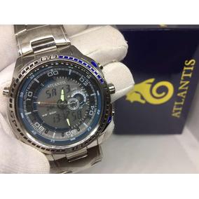 f515d89c882 Ajuste De Hora Relogio Masculino Atlantis - Relógios De Pulso no ...