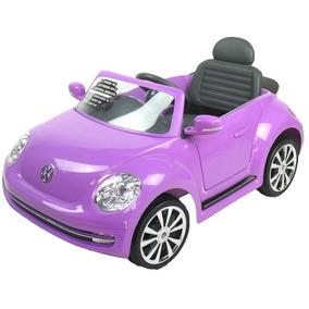 Auto A Batería Con Mp3 Beetle Lila Prinsel Outlet Sin Caja