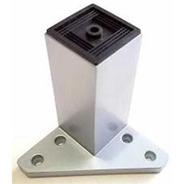 Pata Plástica Base Triangular Pvc Regulable X 4