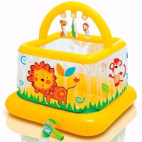 Pula Pula Infantil Inflável Cercadinho Abcd Intex Bebe Store