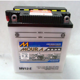 Bateria Moto Moura Mv12-e Cb400/450 Cbr450 - Cb500four