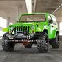Parachoque Led Bumper Rockcrawler Jeep Wrangler Jk 2007-2017