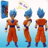 Dragon Ball Goku Dios Vegueta Gigante 43 Cm Sayayin Muñeco