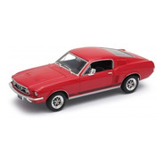 Ford Mustang Gt 1967 (1:24) Original Welly