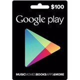 Tarjeta Google Play Card Usd100 Play Store Codigo Digital