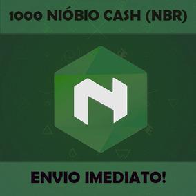 1000 Nióbio Cash (nbr) - Moeda Digital Brasileira
