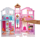 Barbie Real Super Casa 3 Andares Unidade Dly32 - Mattel