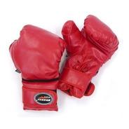 Luva Luta Boxe Cadarço Vermelha Marca Polimet Promoção!