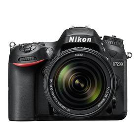 Nikon D7200 Kit 18-140 Reflex 24mp Full Hd Wifi Entrega Ya!